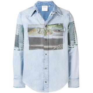 カルバンクライン(Calvin Klein)のCalvin Klein Jeans  EST.1978 プリントシャツ(Gジャン/デニムジャケット)