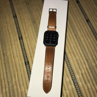 アップルウォッチ(Apple Watch)のApple Watch Series 5(GPSモデル)-44mmスペースグレイ(腕時計(デジタル))