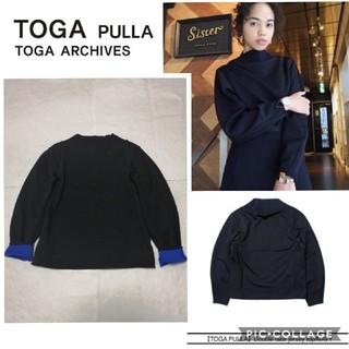 トーガ(TOGA)のTOGA PULLA トーガプルラ ダブルフェイスジャージトップス(その他)