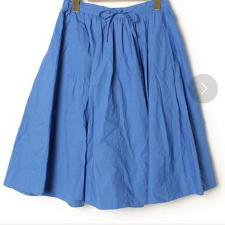 コントワーデコトニエ(Comptoir des cotonniers)のコントワーデコトニエ ブルー スカート(ひざ丈スカート)