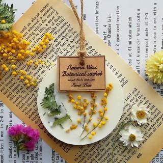 Mimosa 《ROUND》 - アロマワックスサシェ