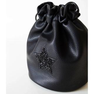 新品*定価3850*Actually * Jelly星 巾着 ショルダー バッグ(ショルダーバッグ)