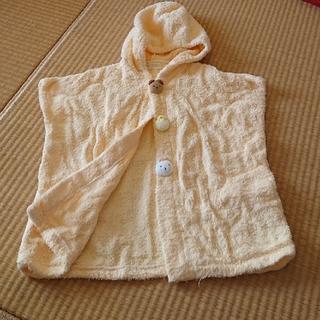 イマバリタオル(今治タオル)のベビーバスローブ  50~70(バスローブ)
