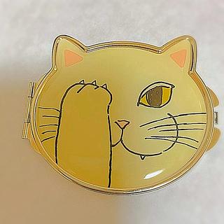 猫コンパクトミラー (ミラー)