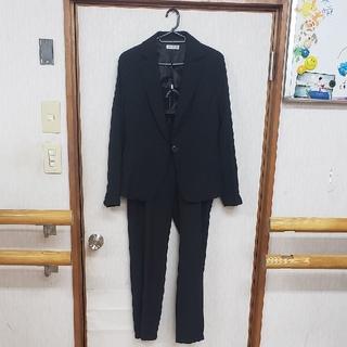 アーヴェヴェ(a.v.v)のアーヴェヴェ パンツスーツ ブラック未使用(スーツ)