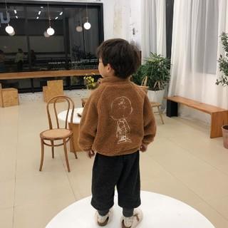 petit main - 最安値【新品未使用】チャーリーブラウン ボアジャケット アウター 韓国子供服