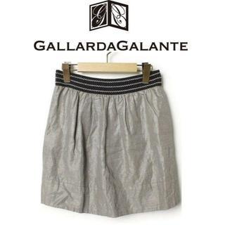 ガリャルダガランテ(GALLARDA GALANTE)の【送料無料】GALLARDA GALANTE ガリャルダガランテ 綺麗めスカート(ミニスカート)