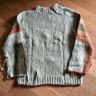 UNUSED - UNUSED US1321 HandKniting Sweater アンユーズド