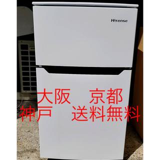 Hisense  2ドア冷凍冷蔵庫  HR-B95A       2017年製 (冷蔵庫)