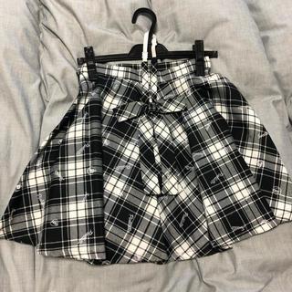 ピンクラテ(PINK-latte)のpinklatte スカート 160cm(ひざ丈スカート)