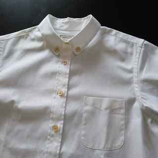 メゾンキツネ(MAISON KITSUNE')の新品未使用   メゾンキツネボタンダウンシャツ(シャツ/ブラウス(長袖/七分))