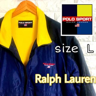 ラルフローレン(Ralph Lauren)の【送料無料】POLO SPORT フリースナイロンジャケット【レア】(ナイロンジャケット)