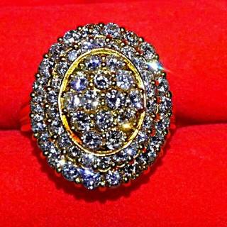 豪華~2カラットダイヤモンドリング(リング(指輪))