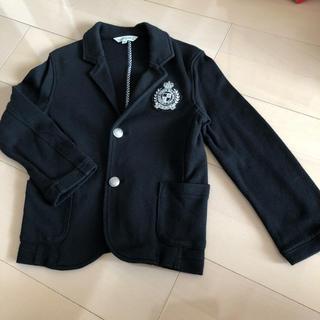 サンカンシオン(3can4on)のジャケット ブレザー 黒 ブラック 110(ジャケット/上着)