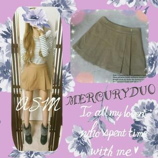 マーキュリーデュオ(MERCURYDUO)の初売り☆マーキュリー*ウールスカート(ミニスカート)