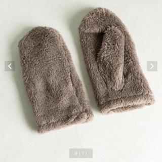 コーエン(coen)のフリースミトン(手袋)