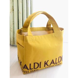 カルディ(KALDI)のカルディ 2020福袋 バッグ イエロー(トートバッグ)