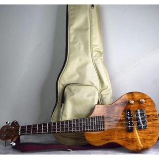3/23で終了❣️美品❗️Big Islandウクレレミニベース トラベル楽器(テナーウクレレ)