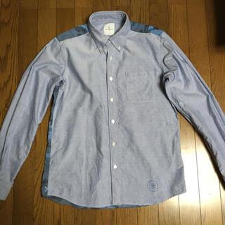 ユニフォームエクスペリメント(uniform experiment)のuniform experiment 14ss カモフラバックパネルシャツ中古(シャツ)