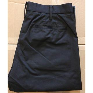 ムジルシリョウヒン(MUJI (無印良品))のさっちん様専用✨無印良品 ノータックパンツ 73cm ブラック(スラックス)