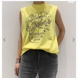 ゴールデングース(GOLDEN GOOSE)の☆新品未使用☆GOLDEN GOOSEカットソー(Tシャツ(半袖/袖なし))