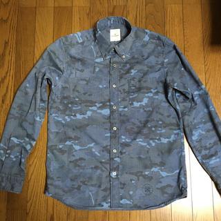 ユニフォームエクスペリメント(uniform experiment)のuniform experiment 14aw カモフラボタンダウンシャツ中古(シャツ)