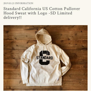 スタンダードカリフォルニア(STANDARD CALIFORNIA)のSD US Cotton Pullover Hood Sweat-Limited(パーカー)