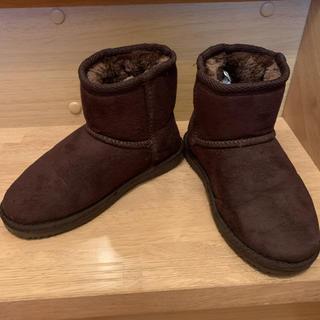 ムートンブーツ 18センチ(ブーツ)