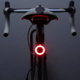 【新品】USB充電 Led自転車リアライト 防水(パーツ)