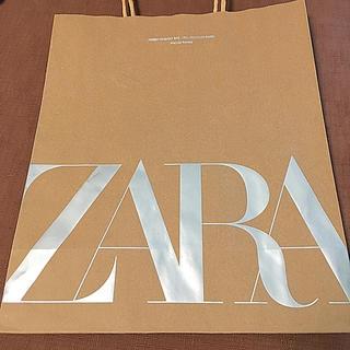ザラ(ZARA)のZARA 紙袋(ショップ袋)