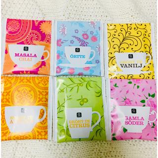 【日本未発売】北欧スウェーデンの紅茶 ティーバッグ詰合せ(茶)