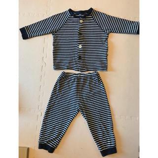 MUJI (無印良品) - 無印 男の子 パジャマ お着替え ソフトスムース 90 100 95 綿