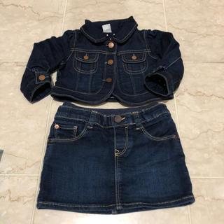 ベビーギャップ(babyGAP)のbaby gap デニムジャケット&スカート (ジャケット/コート)