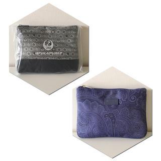 エトロ(ETRO)のJAL国際線♡2個SET ビジネスクラストラベルポーチ エトロポーチ化粧ポーチ (旅行用品)