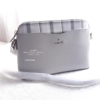 ヨンドシー(4℃)の新品未使用 ルリア4℃ 人気デザイン ショルダーバッグ シックなチェックカラー(ショルダーバッグ)