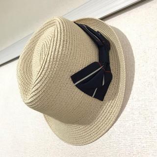ジーユー(GU)の中折れ麦わら帽子(麦わら帽子/ストローハット)