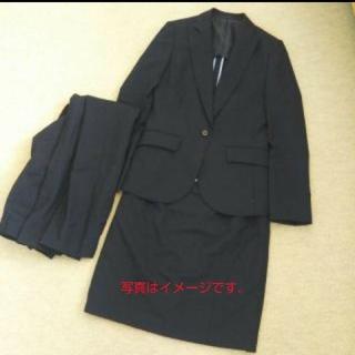 【美品】ざらめ様専用スーツセレクト スーツ グレー(スーツ)