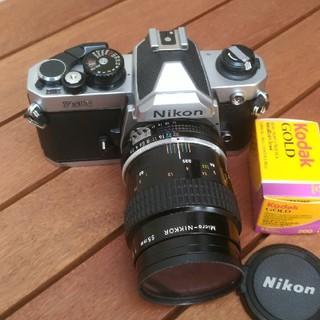Nikon - ニコンNEW FM2 55mmマイクロニッコール 動作確認済み