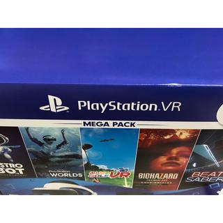 プレイステーションヴィーアール(PlayStation VR)の新品未開封 PlayStationVR MEGA PACK(家庭用ゲーム機本体)