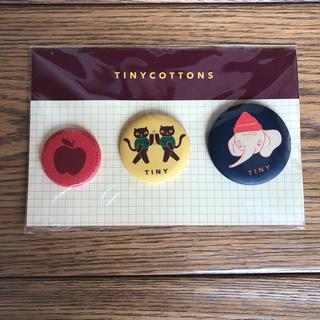 tinycottons  バッジ