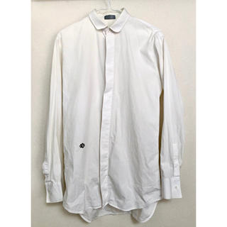 ディオールオム(DIOR HOMME)のディオールオム 丸襟長袖シャツ 37 サンローラン パリ エディスリマン(シャツ)