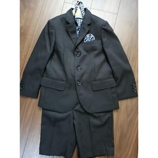 マザウェイズ(motherways)のスーツ 黒ストライプ 120cm マザウェイズ(ドレス/フォーマル)