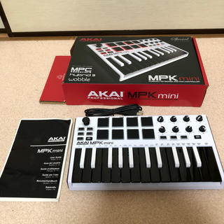 sakataku様専用AKAI MPK MINI white(MIDIコントローラー)