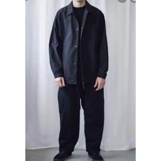コモリ(COMOLI)のcomoli コーチジャケット Black(ナイロンジャケット)