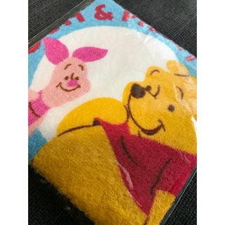ディズニー(Disney)の♡ディズニー♡ くまのプーさん ピグレット ハンドタオル ミニタオル かわいい(ハンカチ)