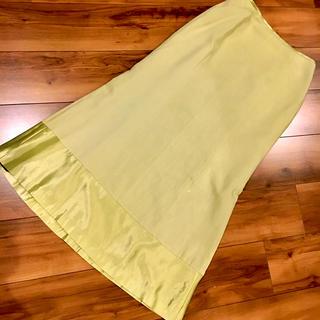 ホコモモラ(Jocomomola)のホコモモラ ロングスカート 40 ライトグリーン (ロングスカート)