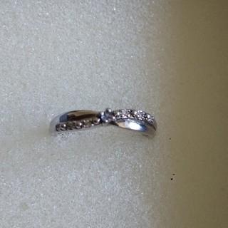 シルバー[925]ダイヤモンド ピンキーリング  2号(リング(指輪))