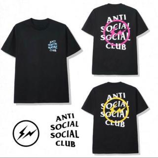 アンチ(ANTI)のFragment x Assc Yellow Bolt Tee XL(Tシャツ/カットソー(半袖/袖なし))
