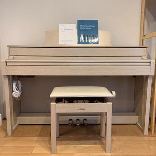 ヤマハ(ヤマハ)のヤマハ YAMAHA クラビノーバ CLP-645 ホワイトアッシュ 美品(電子ピアノ)
