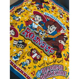 ディズニー(Disney)の♡ディズニー♡ トイストーリー ウッディ ブルズアイ ジェシー バンダナ お弁当(ハンカチ/バンダナ)